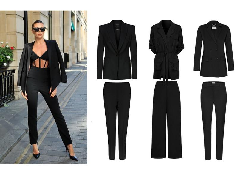 Modne garnitury na wiosnę 2021