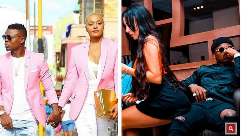Wolper, Sarah and Harmonize. Harmonize and fiancée Sarah attend Jacqueline Wolper's Birthday Party .