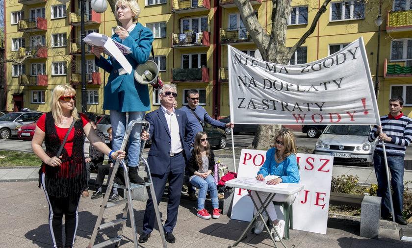Protest mieszkańców w Siemianowicach Śląskich