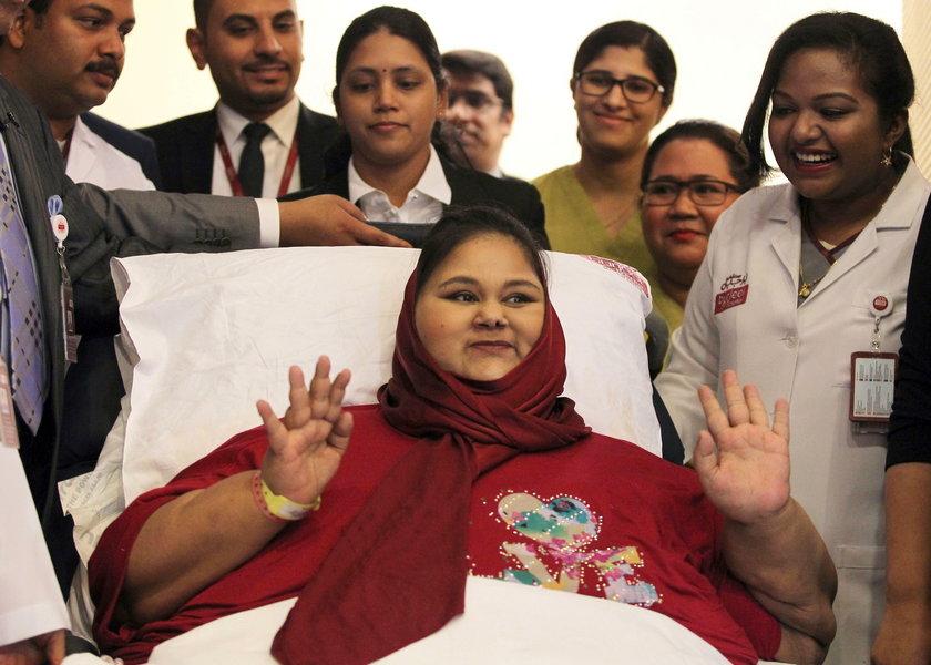 Nie żyje najgrubsza kobieta na świecie. Przed śmiercią schudła 300 kg