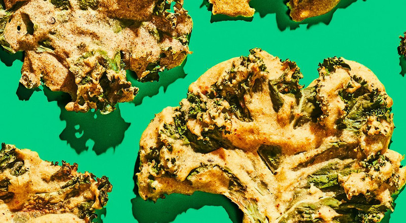 Crispy Kale Chips, 4 Ways