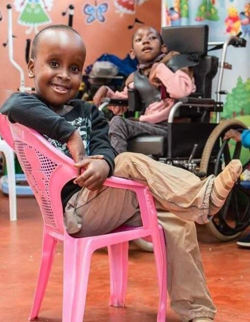Podopieczni z Centrum Help Furaha w Meru