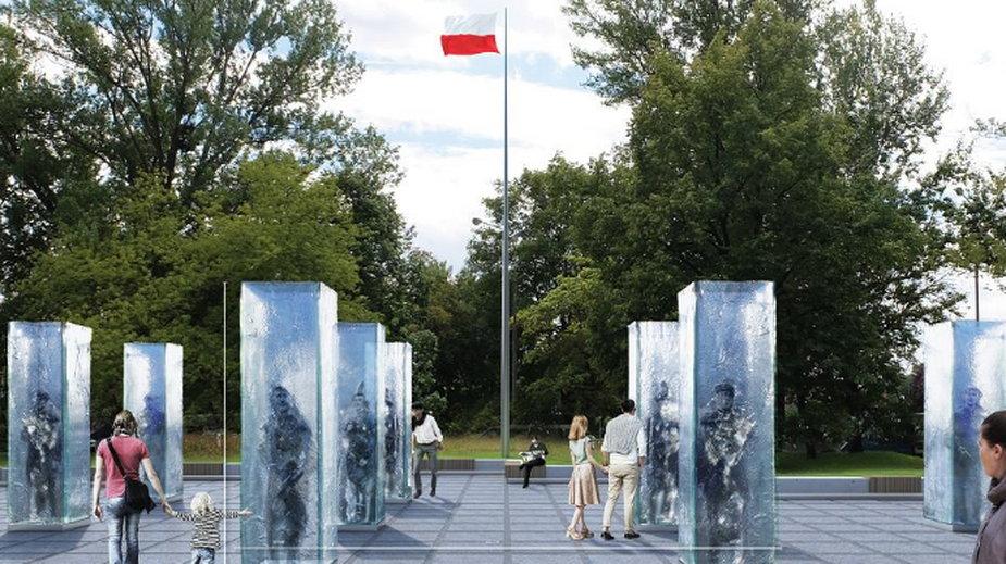 Zwycięski projekt pomnika Żołnierzy Wyklętych we Wrocławiu