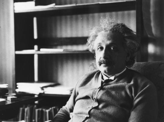 Albert Einstein Znane Cytaty Złote Myśli