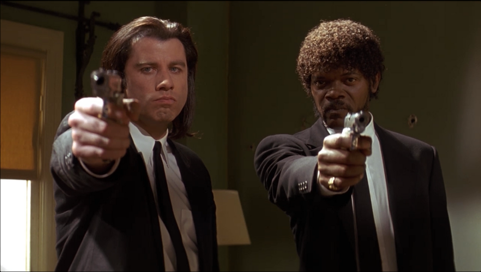"""Pulp fiction"" (1994, reż. Quentin Tarantino)"