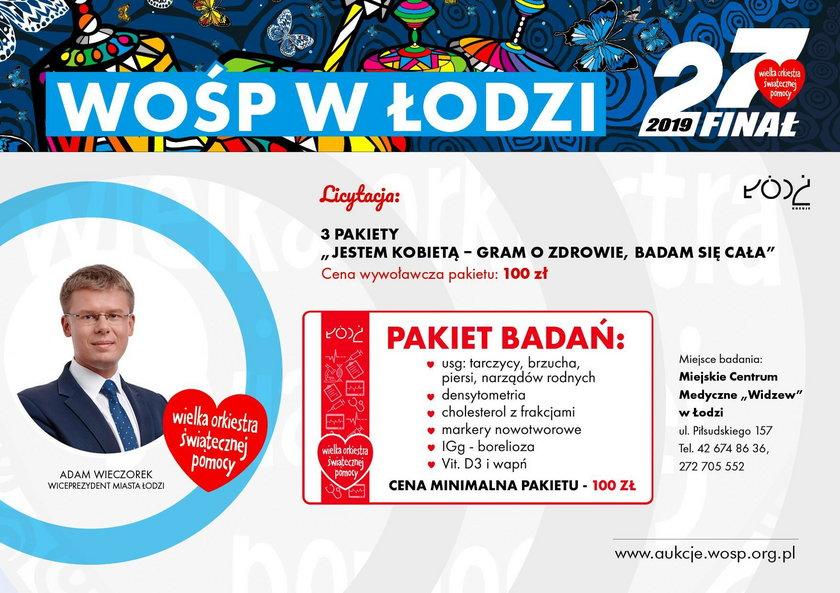 WOŚP w Łodzi 2019