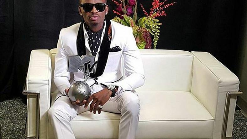 Diamond Platnumz Tanzanian singer wins 'Best Act Africa
