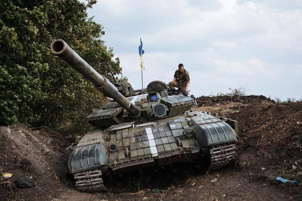 Ukraina. Fot. EPA/ROMAN PILIPEY
