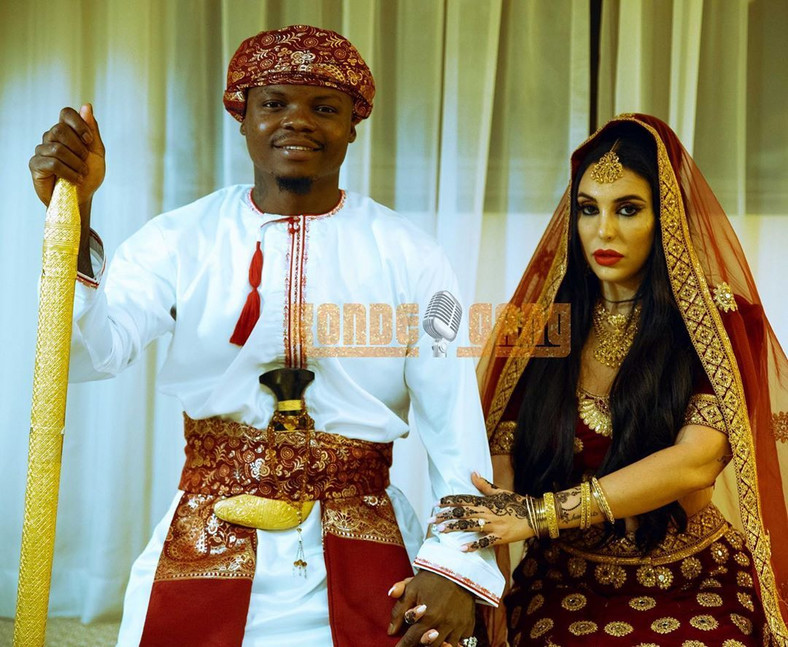 Harmonize's Manager reveals unknown details about the super stars wedding
