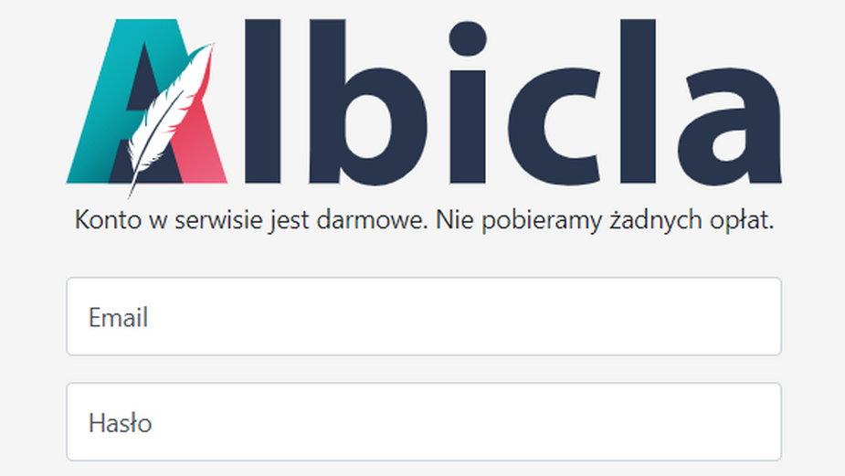 Albicla.com - strona główna