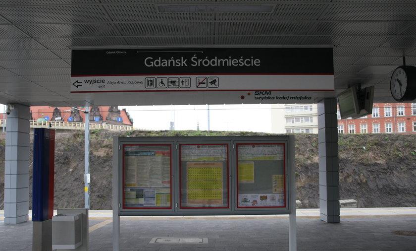 Stacja SKM Śródmieście