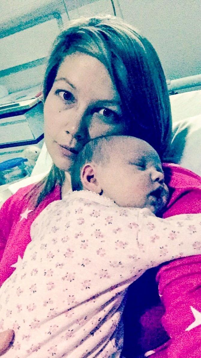 U bolnici su, srećom, brzo povratili malu Harper