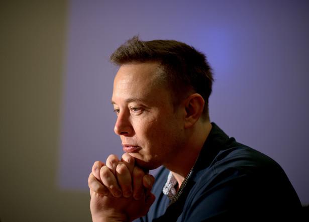 Elon Musk, współzałożyciel i dyrektor zarządzający Tesla Motors