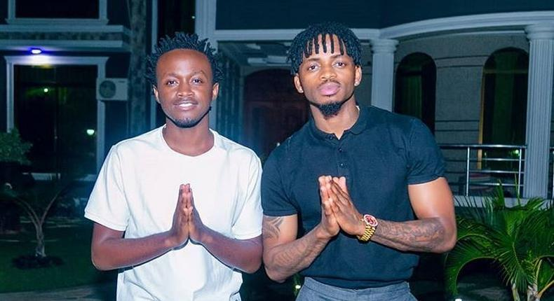 Bahati addresses claims of getting signed at Diamond's WCB