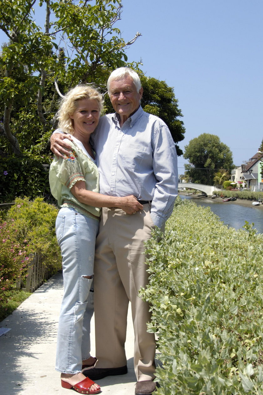 Orson Bean z żoną