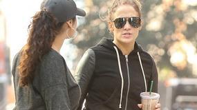 Jennifer Lopez w legginsach. Wow!