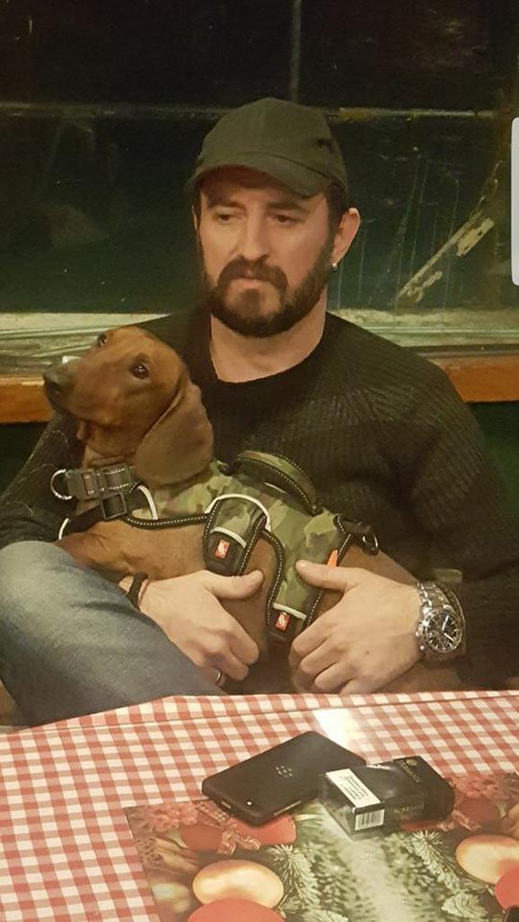 Ubijeni Nenad Blagojević i pas koji je preživeo likvidaciju