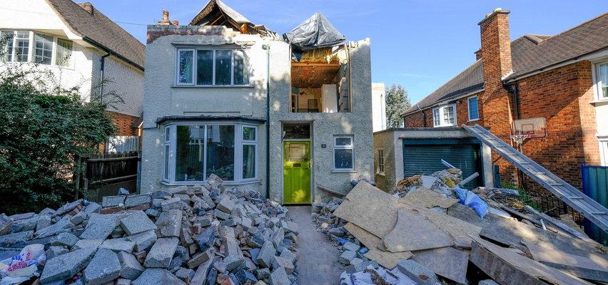 Zniszczył dom, zamiast go przebudować. Właściciel posesji jest załamany