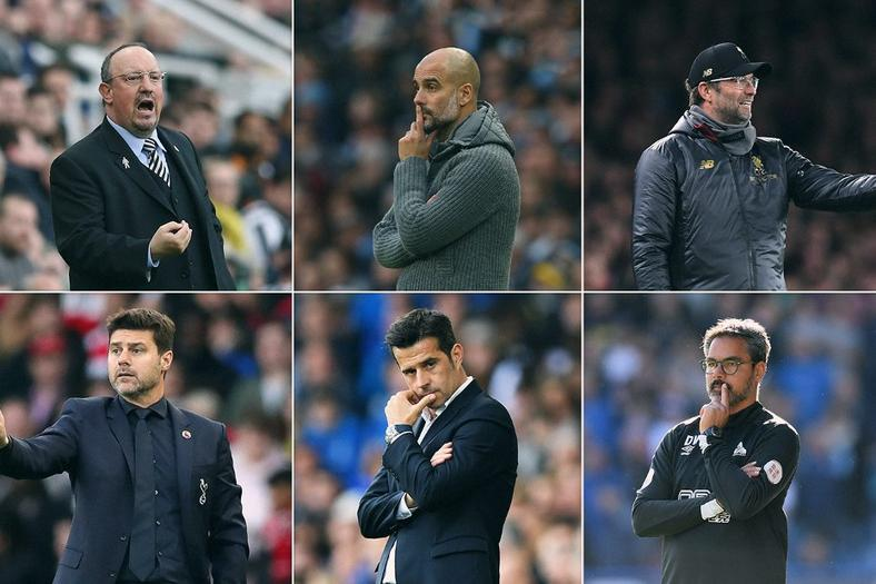 Premier League Manager of the Month nominees