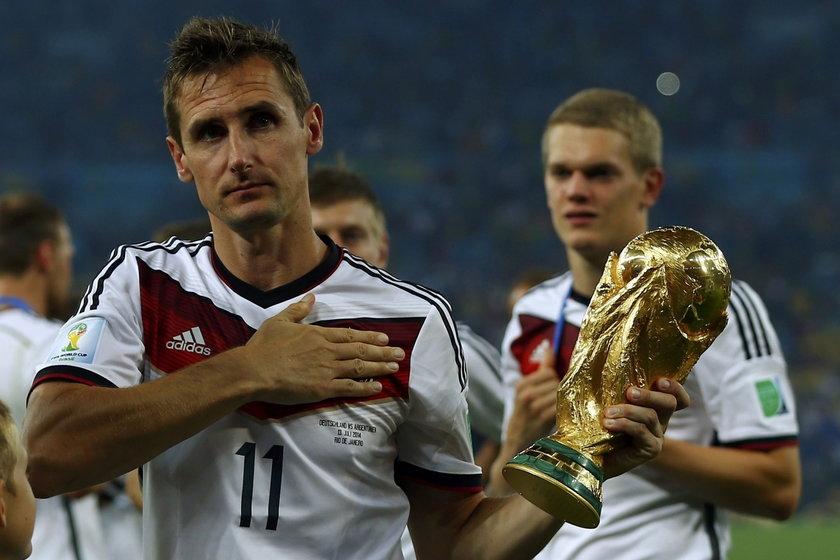 Miroslav Klose kończy reprezentacyjną karierę