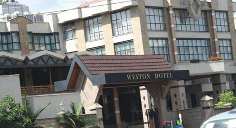 File image of Weston Hotel