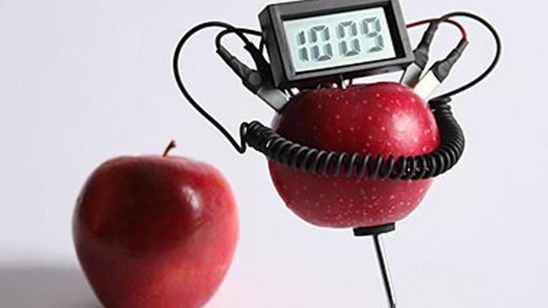 Zobacz zegarek napędzany… jabłkiem