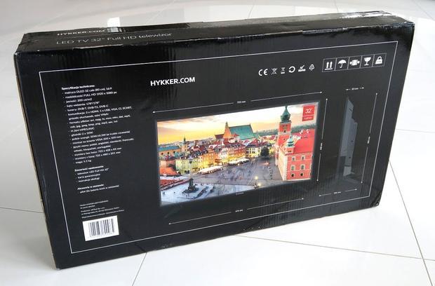 Parametry telewizora
