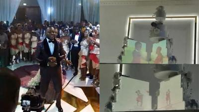 #Kency2020: Check out the classy details of Osei Kwame Despite son's wedding