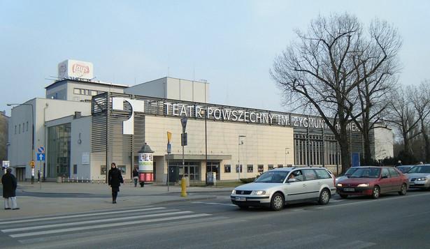 Teatr Powszechny Fot.Tadeusz Rudzki CC BY-SA 4.0-3.0-2.5-2.0-1.0]