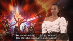 """""""Strażnicy galaktyki vol. 2"""": Zoe Saldana o roli Gamory"""