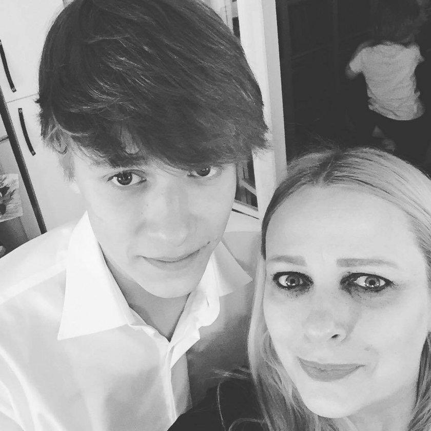 Nosowska pokazała 20-letniego syna. Ale przystojniak!