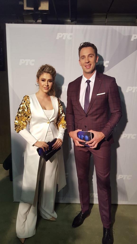 Kristina Radenković i Stefan Popović