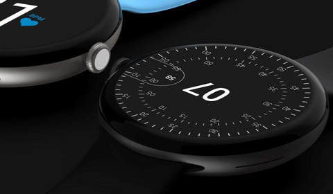 Google Pixel Watch pozuje na renderach. Smartwatch jest podobny do zegarków Withings
