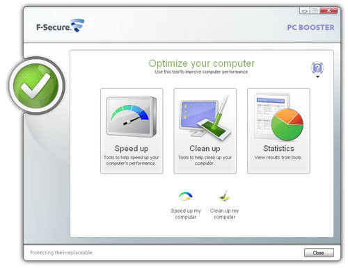 F-Secure PC Booster Beta