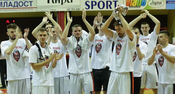 Košarkaši Slobode iz Užica