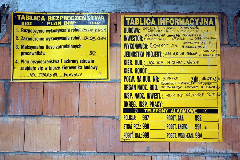 Budowa mieszkań komunalnych w Katowicach przy ul. Koredckiego