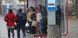 Pada śnieg w Warszawie