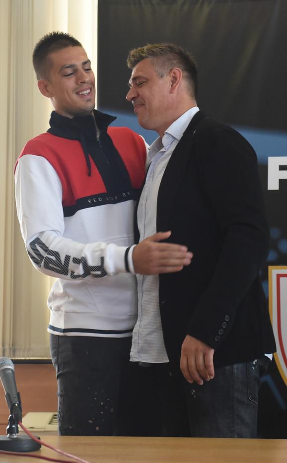 Vujadin Savić i Savo Milošević
