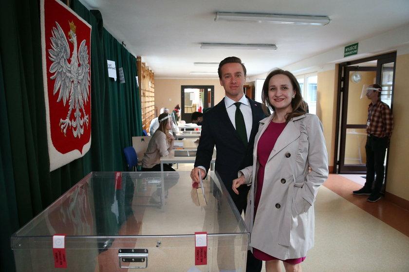 Krzysztof Bosak, Karina Bosak, wybory, druga tura, 2020