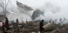 Samolot runął na ziemię. Wiele ofiar