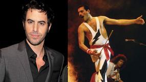 Borat w roli Freddiego Mercury'ego!