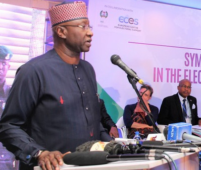 Mr Boss Mustapha, Secretary to the Government of the Federation [Twitter/@econec_resao]