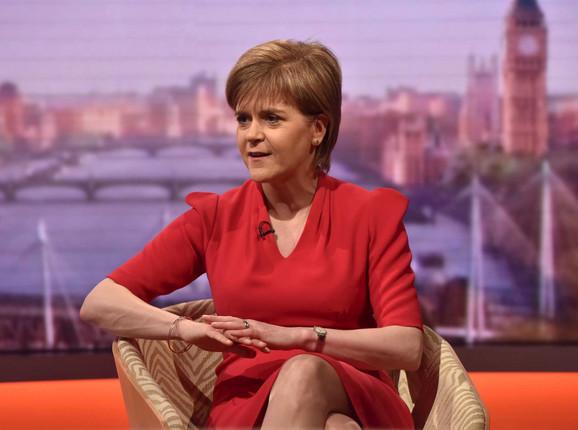 Škotski nacionalisti na čelu sa Nikolom Sterdžon napravili