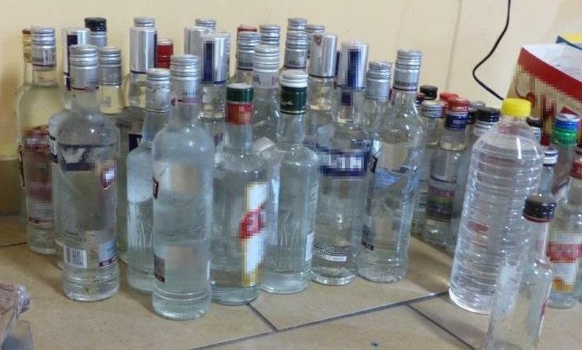 Co piąta butelka wódki jest z niewiadomego źródła pochodzenia