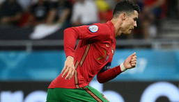 Ronaldo has now scored 109 international goals in 178 appearances Creator: FRANCK FIFE