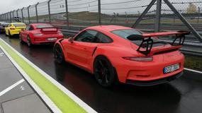 Porsche Cayman GT4, 911 GT3 i 911 GT3 RS - czyste szaleństwo
