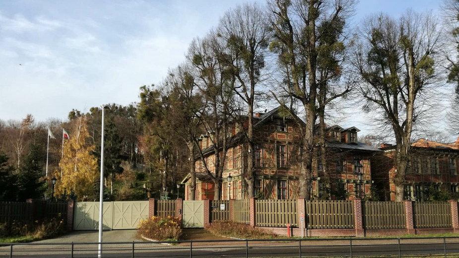 Była rezydencja abp Głódzia w Gdańsku