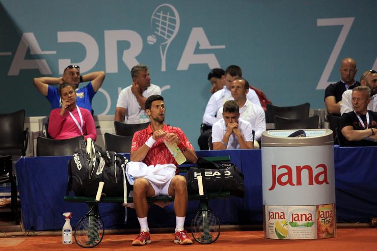 Adria Tour Novak Đoković Borna Ćorić
