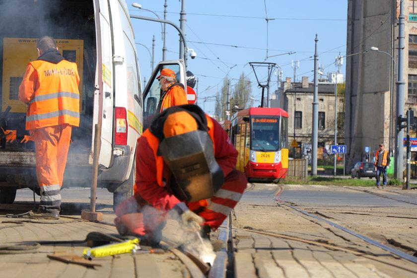 Budowa przystanku PKP Łódź Śródmieście