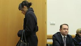 Kamil Durczok i Omenaa Mensah w sądzie